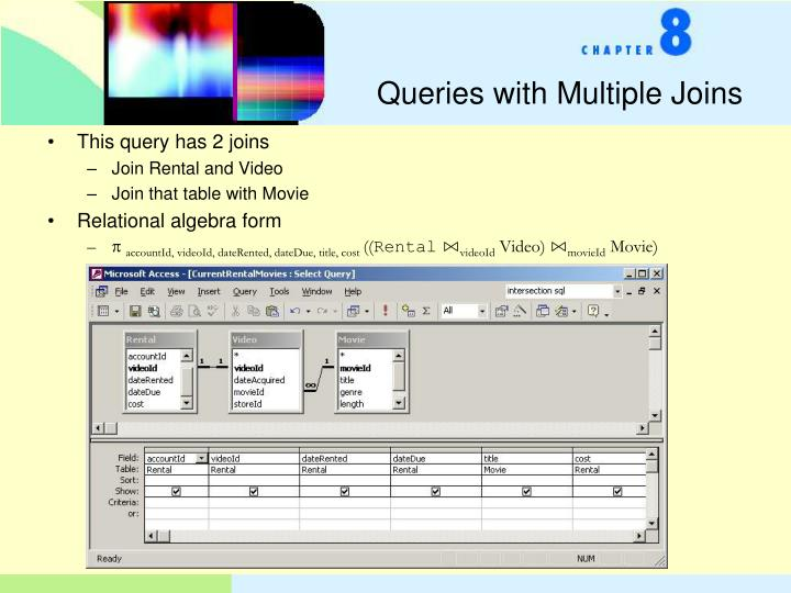 Queries with Multiple Joins
