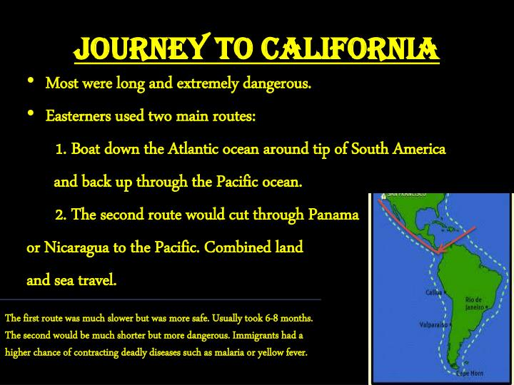 Journey to California