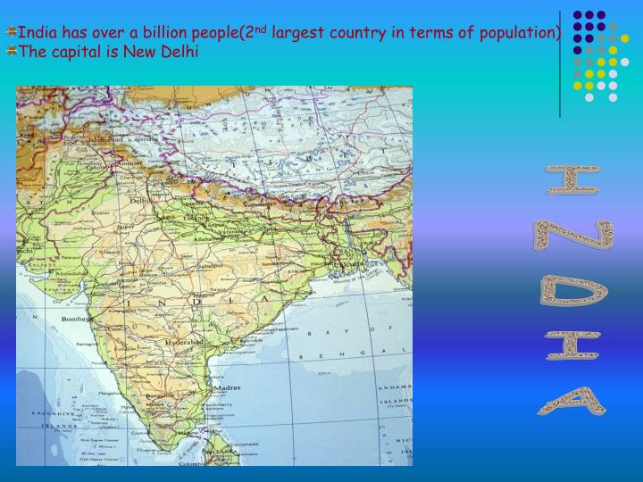 India has over a billion people(2