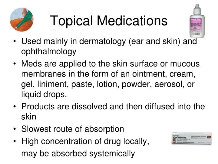 Topical Medications