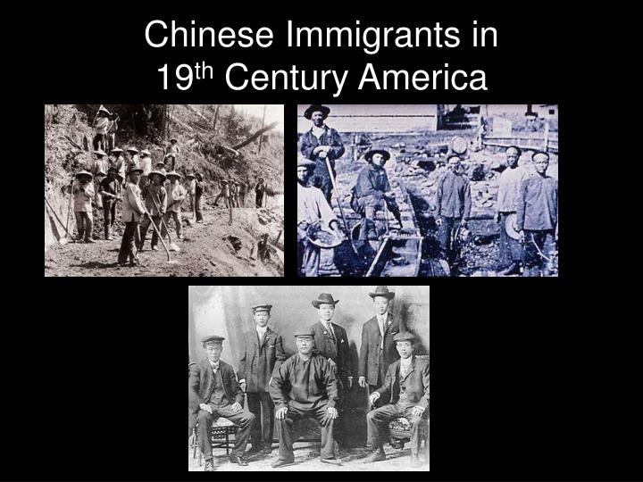 Chinese Immigrants in