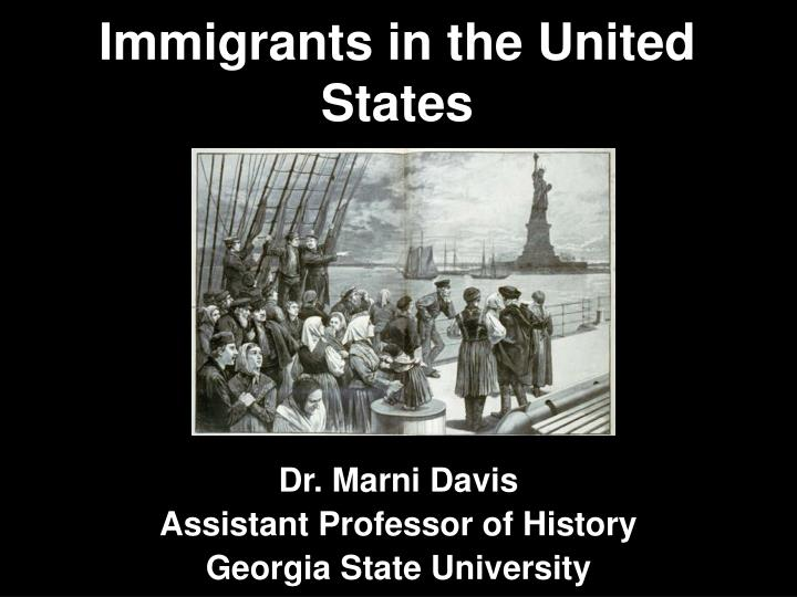 immigrants in the united states n.