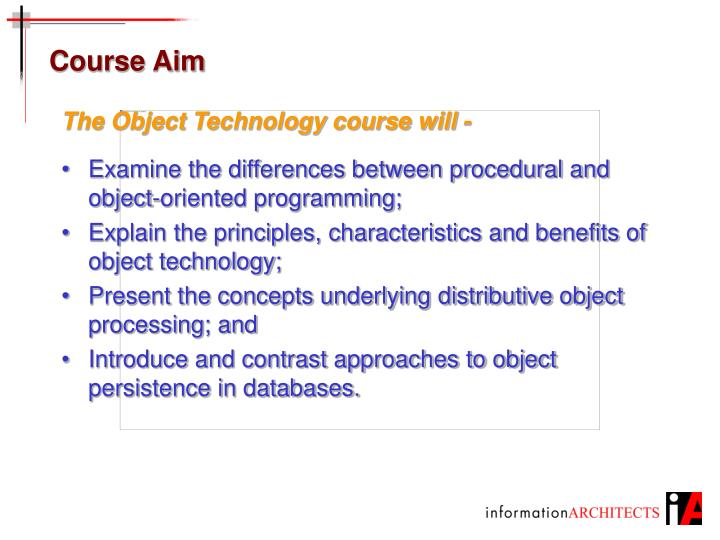 Course aim