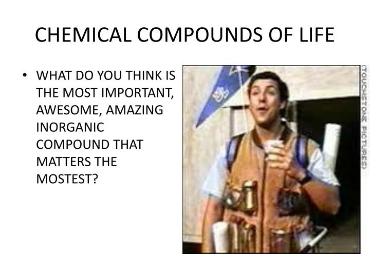 Chemical compounds of life2