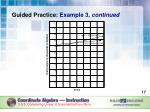 guided practice example 3 continued