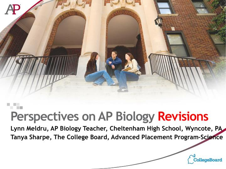 perspectives on ap biology revisions n.
