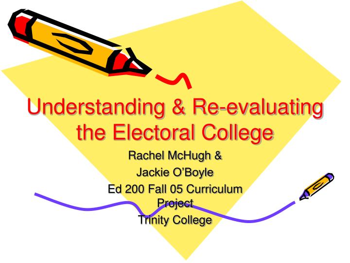 an analysis and an introduction to the electoral college Free essays from bartleby | introduction a political party is a political group that is known officially to be part of the electoral process that is able to.