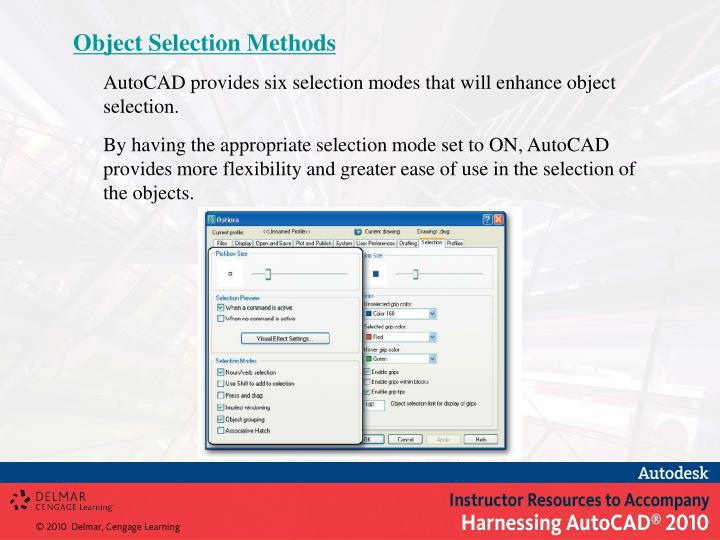 Object Selection Methods