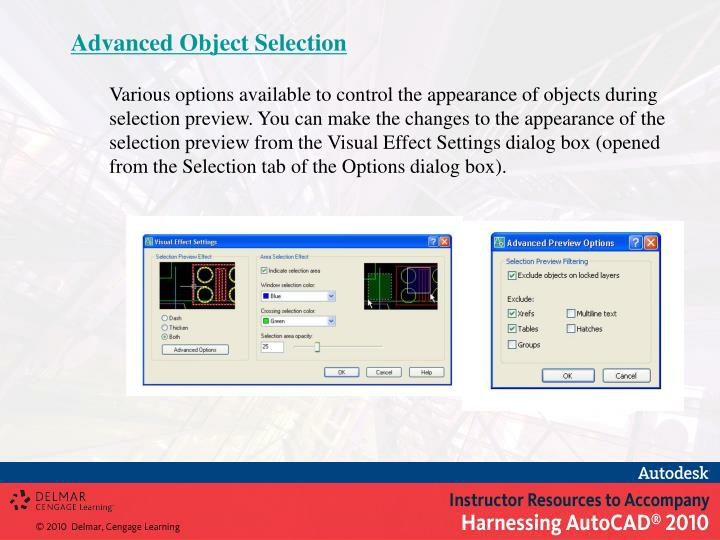 Advanced Object Selection