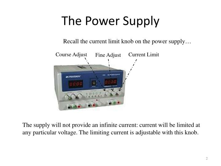 The power supply