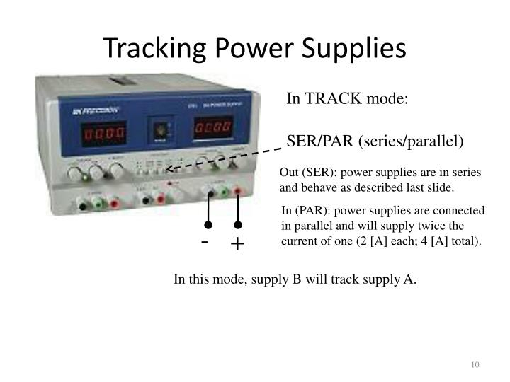 Tracking Power Supplies