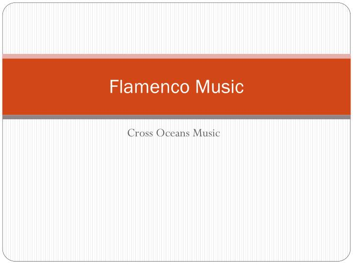 flamenco music n.