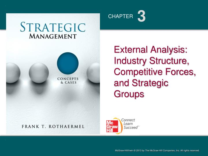 external analysis industry structure competitive forces and strategic groups n.
