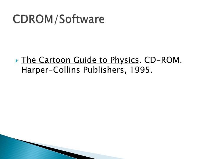 CDROM/Software