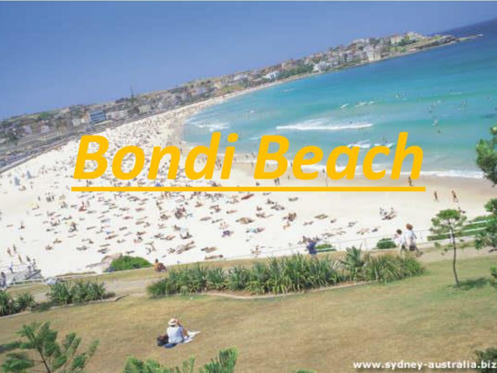 Ppt Bondi Beach Powerpoint Presentation Free Download Id 2708887