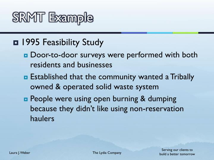 SRMT Example