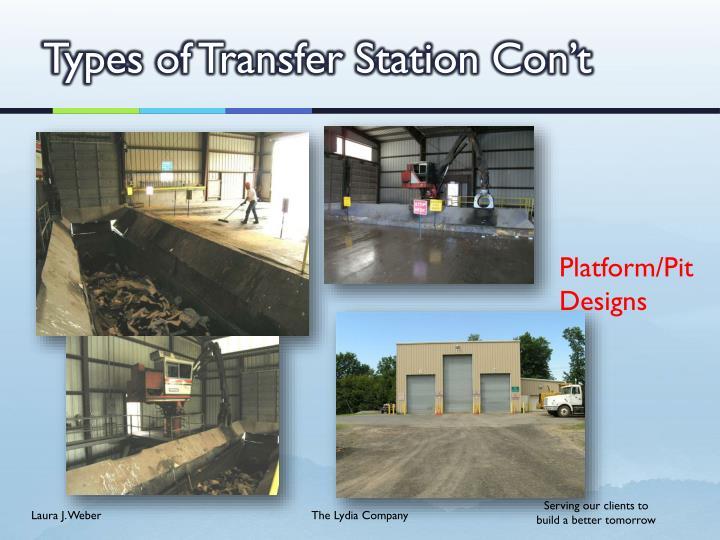 Types of Transfer Station