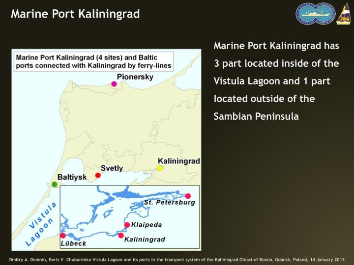 Marine Port Kaliningrad