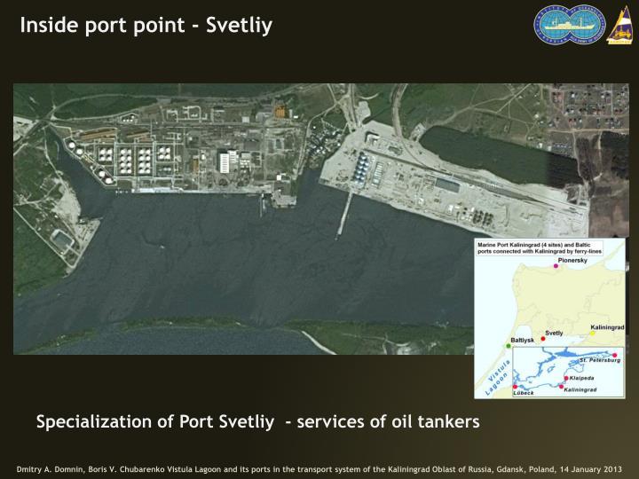 Inside port point -