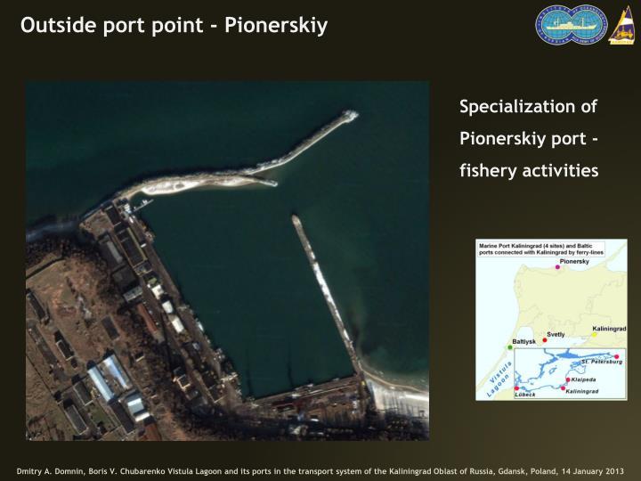 Outside port point -