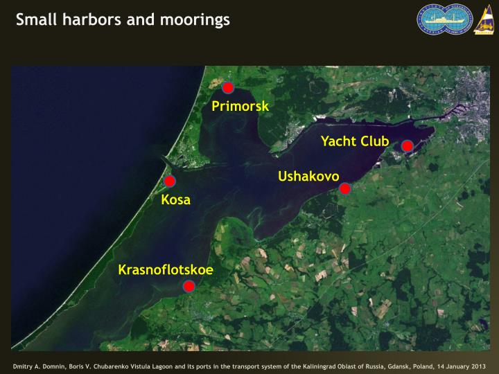 Small harbors and moorings