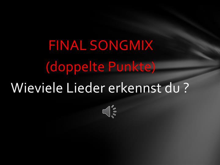 FINAL SONGMIX