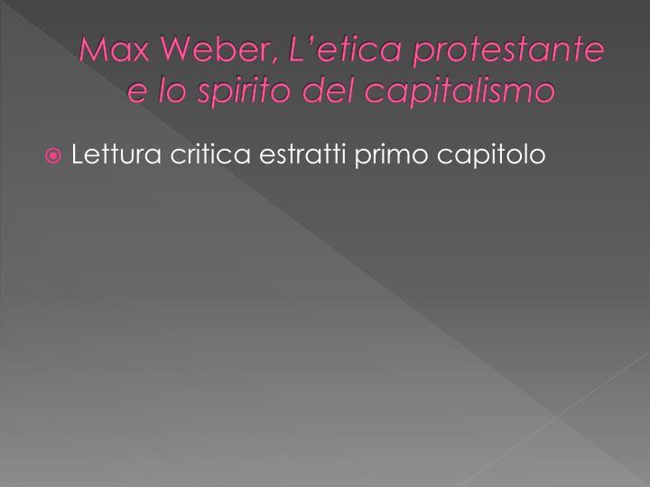 Max Weber,