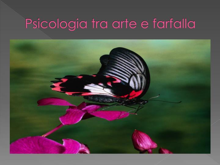 Psicologia tra arte e farfalla