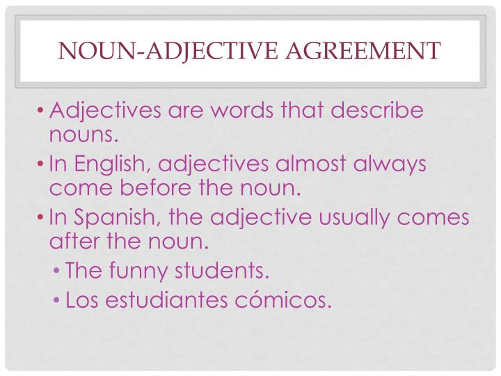 Ppt Subject Pronouns Ser Definite And Indefinite Articles Noun