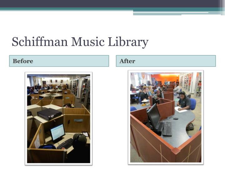 Schiffman Music Library