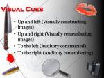 visual cues