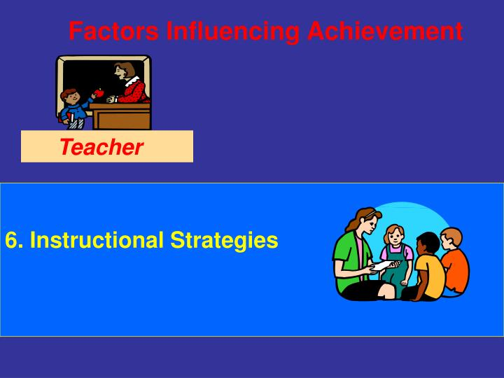 6. Instructional Strategies