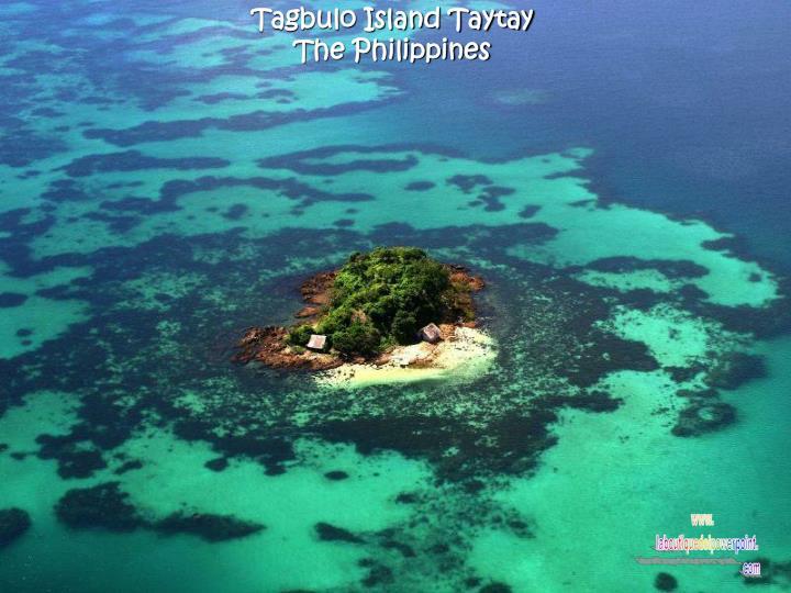 Tagbulo Island Taytay