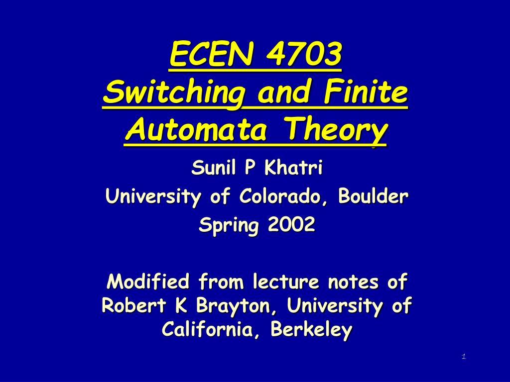 Automata theory wikipedia.