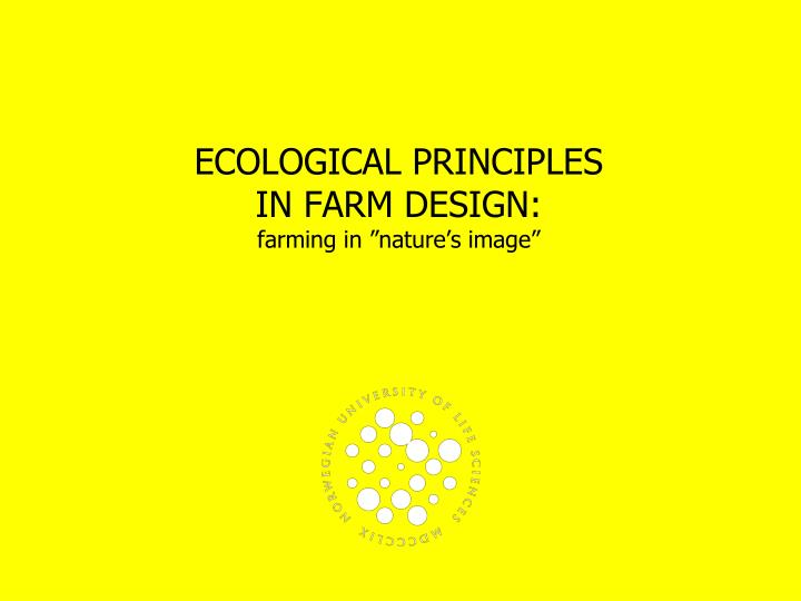 ecological principles in farm design farming in nature s image n.