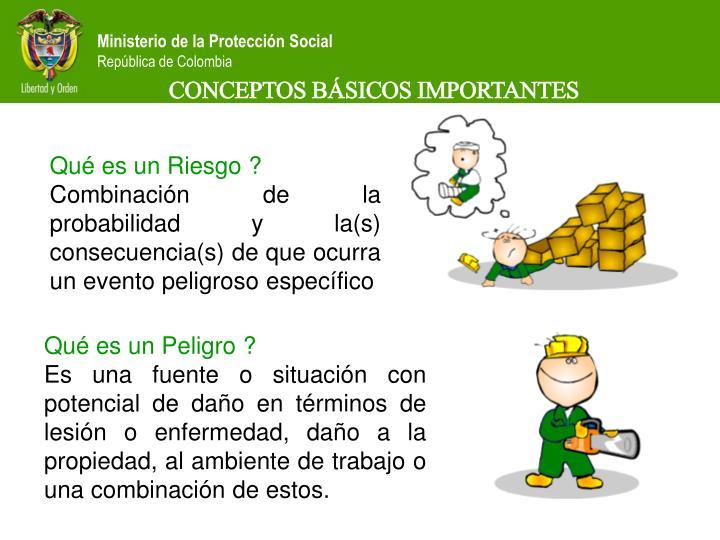 CONCEPTOS BÁSICOS IMPORTANTES