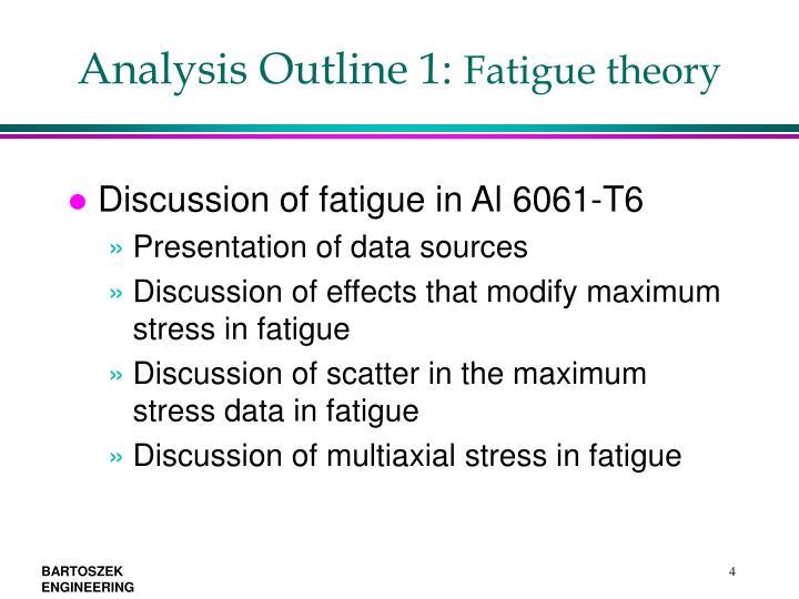 Analysis Outline 1: