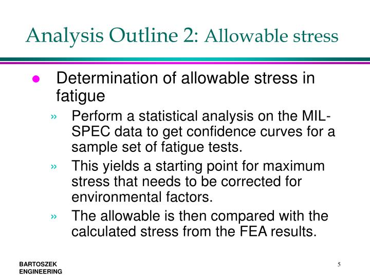Analysis Outline 2: