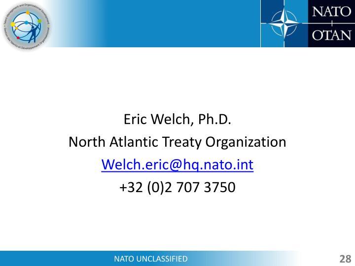 Eric Welch, Ph.D.