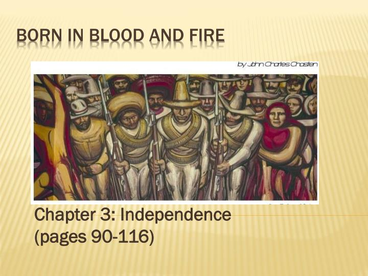 chapter 3 independence pages 90 116 n.