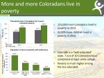 more and more coloradans live in poverty