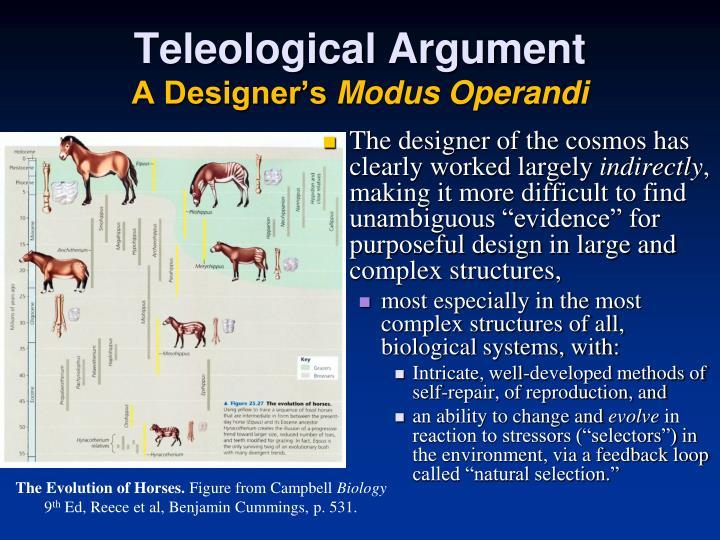 Teleological Argument