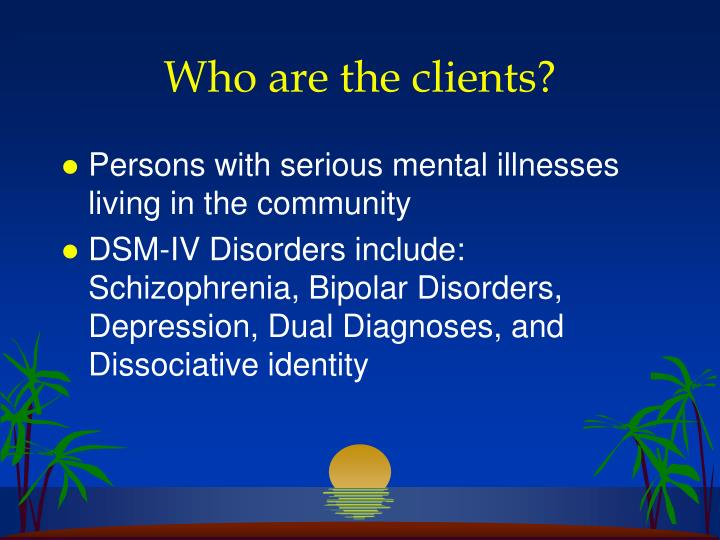 Who are the clients?