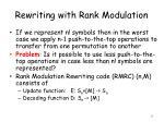 rewriting with rank modulation