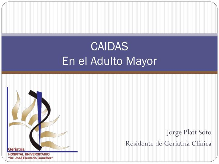 caidas en el adulto mayor n.