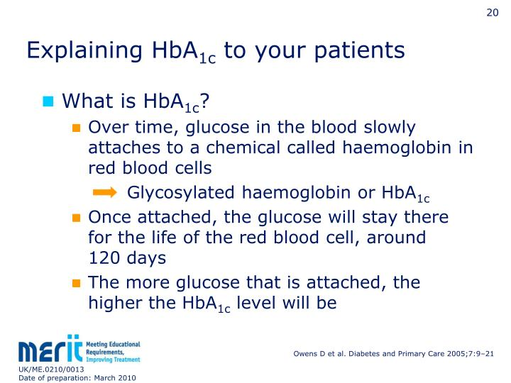 Explaining HbA
