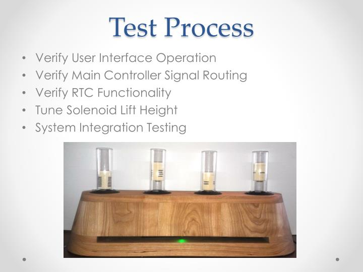 Test Process