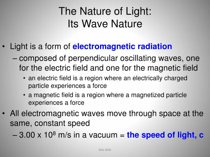 The Nature of Light: