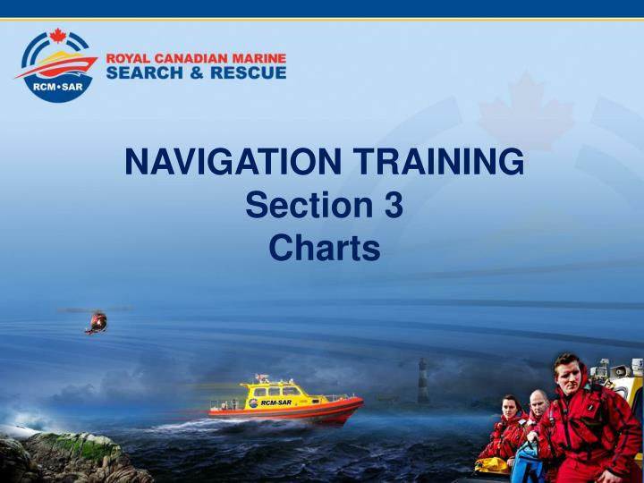 navigation training section 3 charts n.