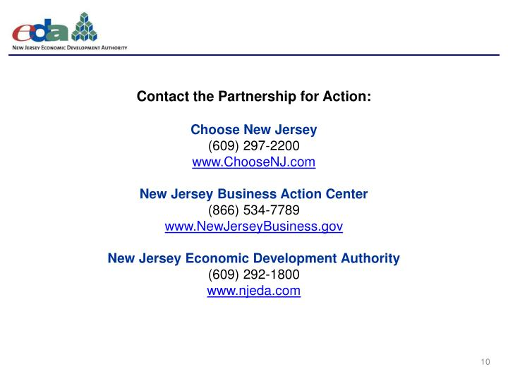 Contact the Partnership for Action:
